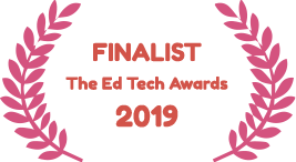 Finalist at the Ed Tech Awards 2019